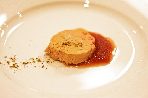 Foie gras maison au sel de Guérande