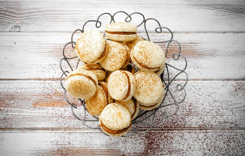 Macarons caramel sel de Guérande