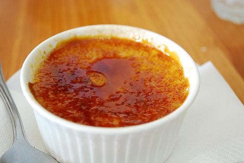 Crème brulée à la fleur de sel